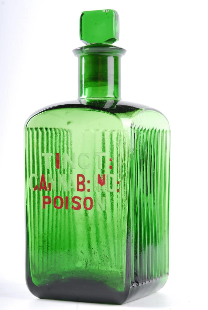cannabis medicinal bottle