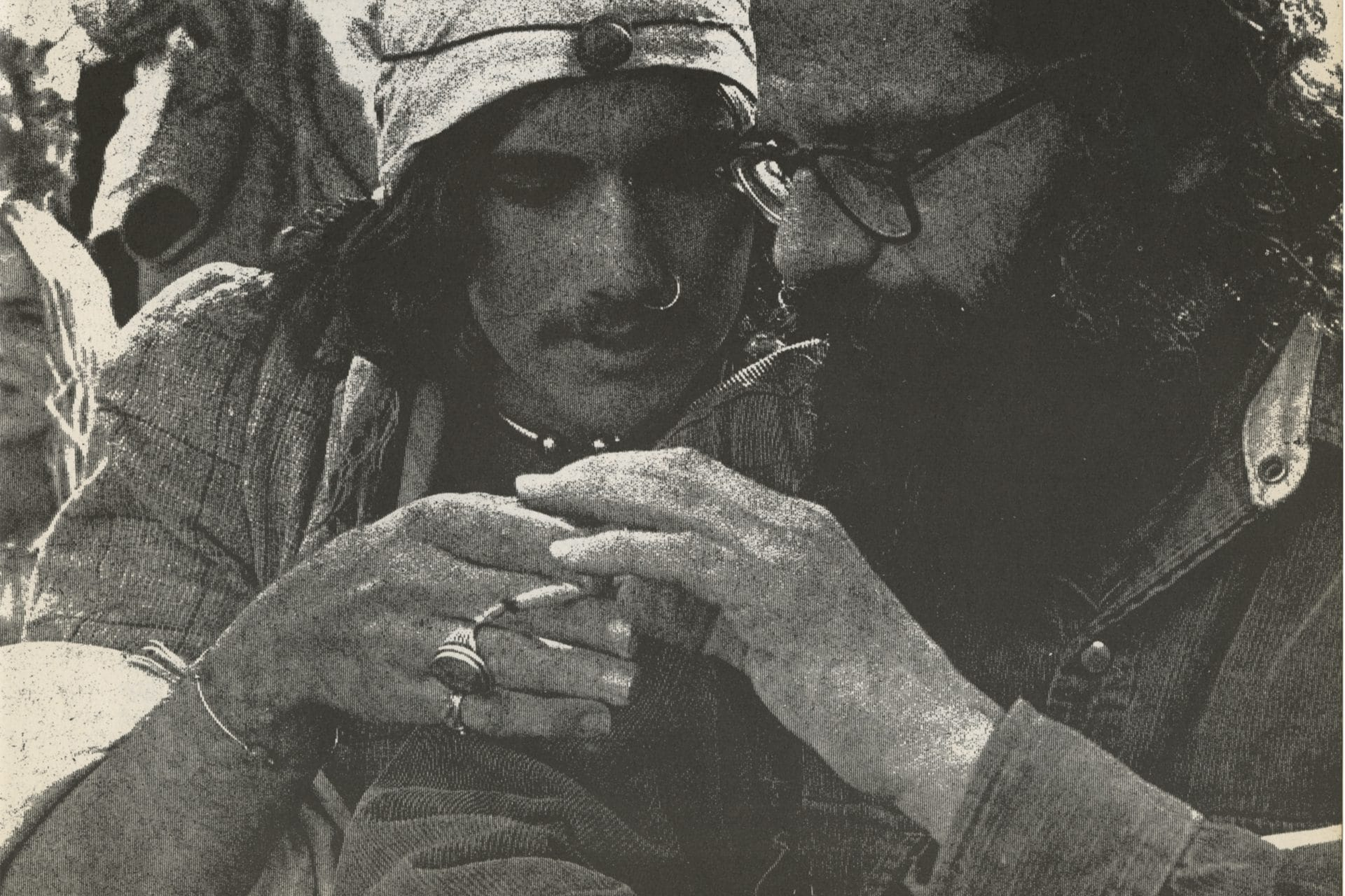 Allen Ginsberg (right), Beat poet and counter-culture icon